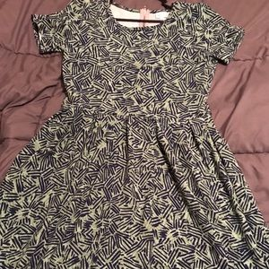 Amelia dress by LuLaRoe. Fun dress! Gently worn